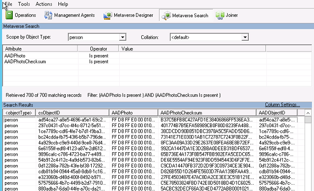 AAD Photo Sync to Identity Manager