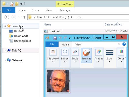 Azure Active Directory Photo