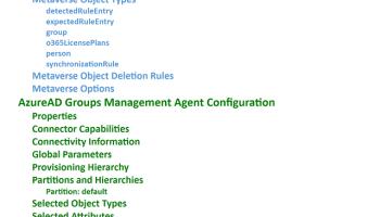 Automated Microsoft Identity Manager Configuration Backups