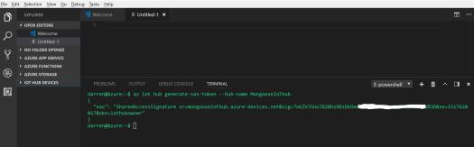 VSCode Generate SAS Token.PNG