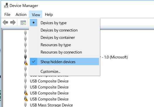 Yubikey Device Manager Properties