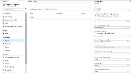 Stream Analytics Input.PNG