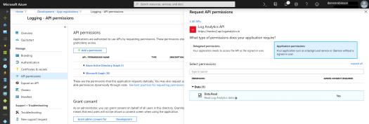 API Access to Log Analytics with KQL