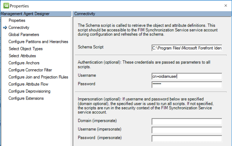 Microsoft Identity Manager Oracle Internet Directory Management Agent Credentials.PNG