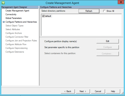 Dynamics 365 Finance & Operations Management Agent Partition