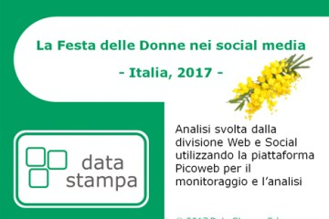 Data Stampa - Report - La Festa delle Donne nei social media - Italia, 2017