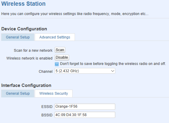 wireless client configuration - Los 10 mejores 'How-To' sobre routers Teltonika