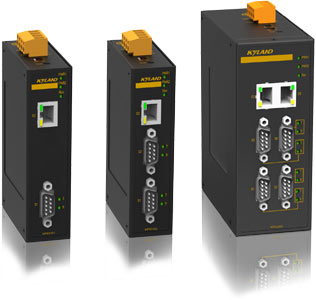 KGW - Gateways Modbus TCP a Modbus RTU/ASCII de 1,2 o 4 puertos