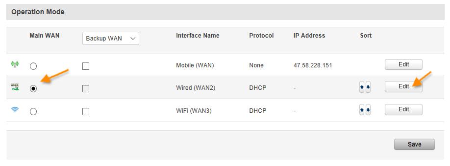 RJ45 as WAN - Los 10 mejores 'How-To' sobre routers Teltonika del 2019