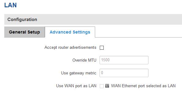 ¿ Cómo configurar el puerto WAN como otro puerto LAN en mi router ?