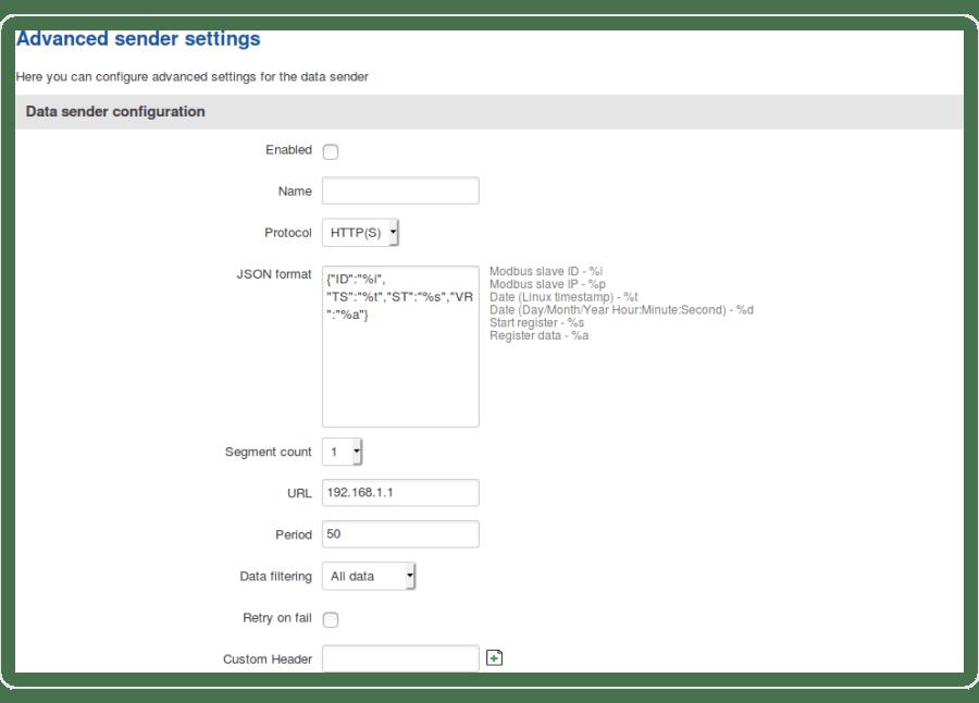 Networking device manual modbus modbus data to server data sender configuration v1 - Funcionalidades Modbus en los routers Teltonika