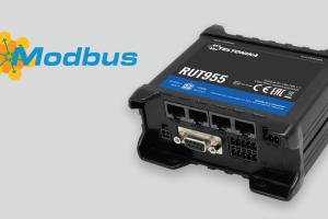 modbus rtu - RUT955 certificado por la Asociación MODBUS