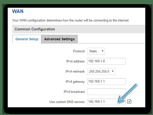 custom dns wired - Los 10 errores más comunes a la hora de poner en marcha un router Teltonika