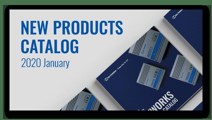 Descárgate el nuevo Catálogo de routers de Teltonika 2020
