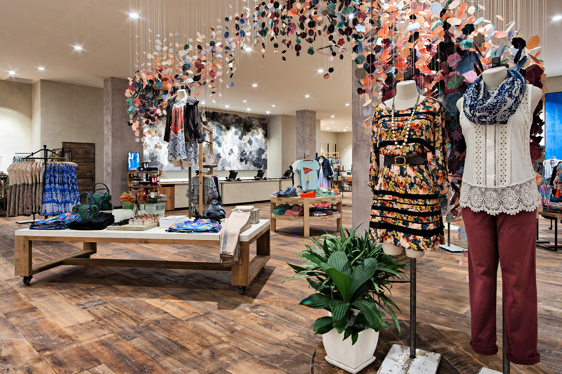 On Assignment Retail Interior Photography Anthropologie