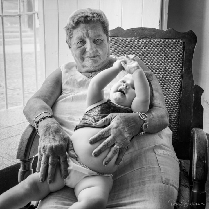 Dolores with Grandson, Trinidad, 2015