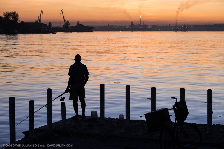 Dawn Fishing in Havana