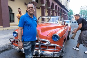 Red Car, Proud owner, Havana, Cuba