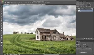 Photoshop work on barn