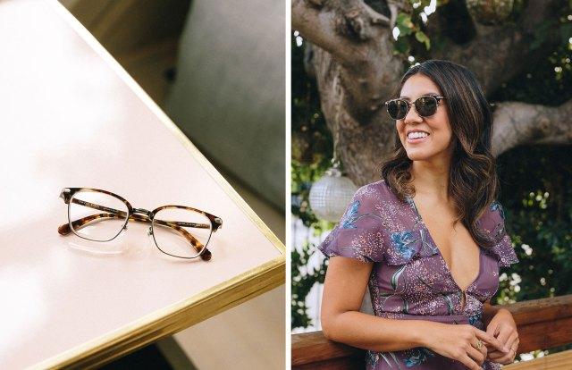 stephanie beatriz eyeglasses glasses katana clip