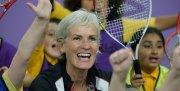Watch Judy Murray's coaching techniques for kids