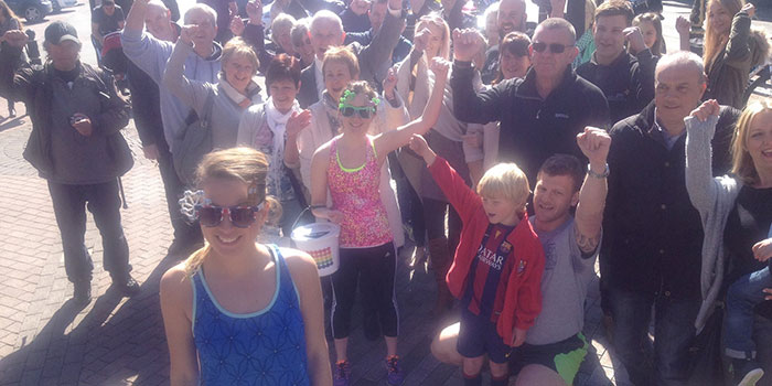 Amy Hughes 53 marathons