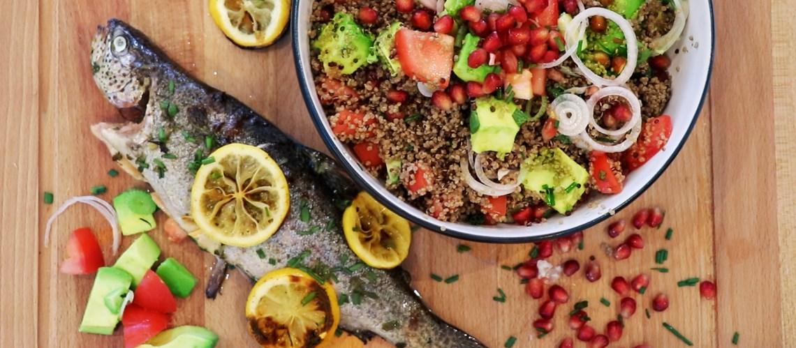 bbq-trout-quinoa-salad-recipe