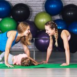 mums-exercising