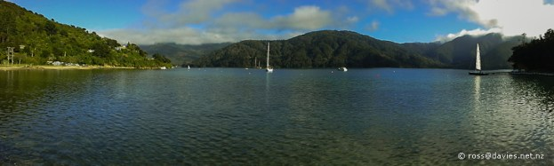 Momerangi Bay, Queen Charlotte Sound