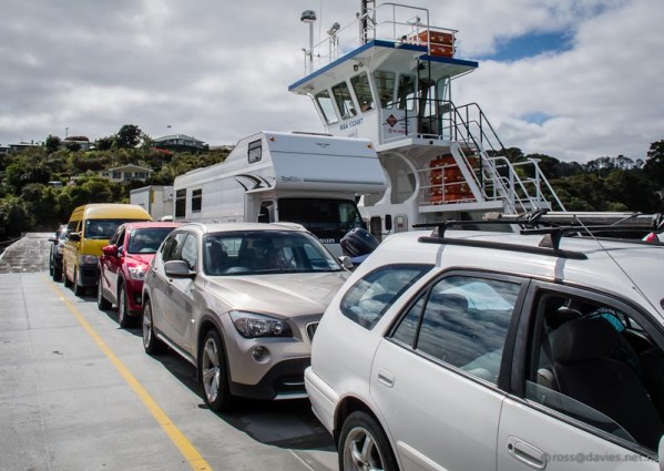 Opua ferry Bay of Islands