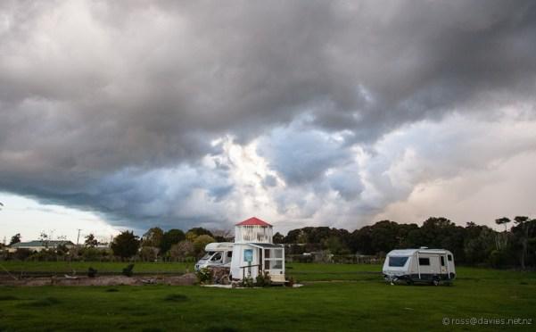 NZMCA park at Kerikeri