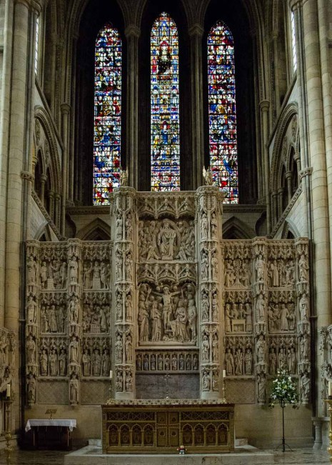 High Altar Truro Cathedral Cornwall