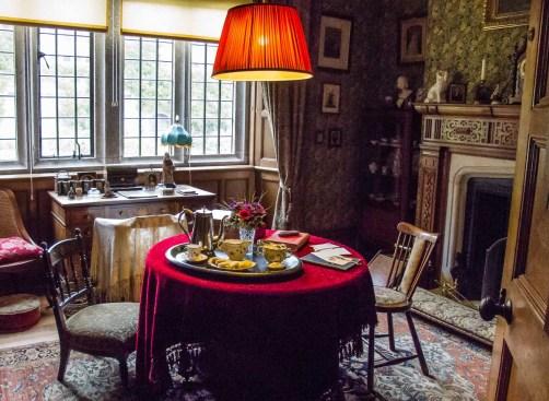 Room scene Lanhydrock House