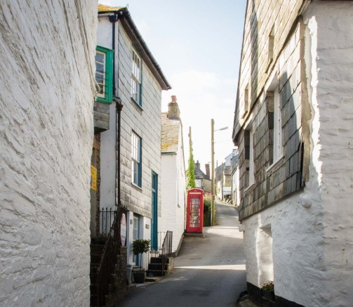 Port Isaac lane