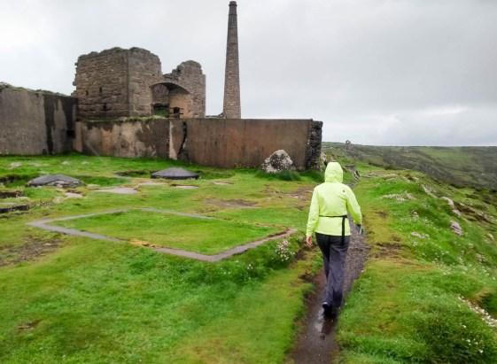 Mine ruins Botallack Mine