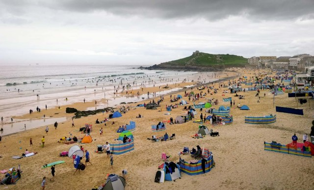 Beach at St Ives