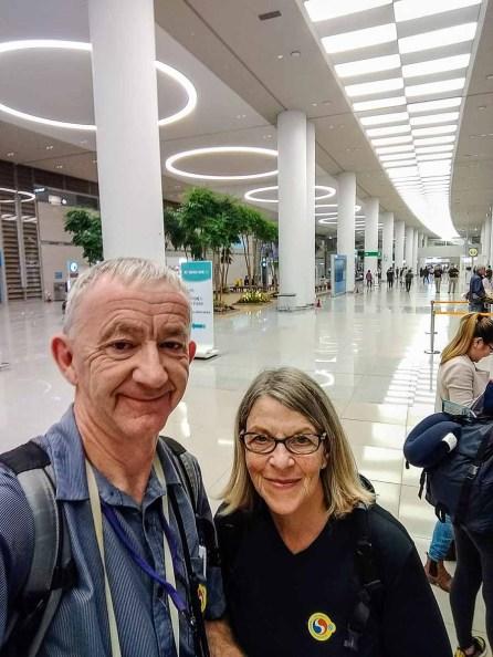 Terminal 2 at Incheon Airport
