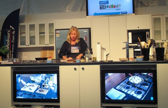 Nici Wickes cooking demo