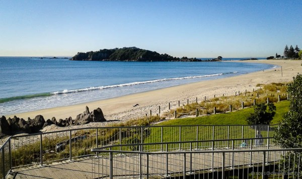 Beach at Mt Maunganui