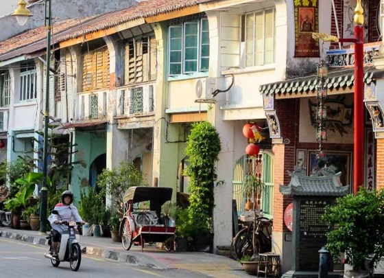 Georgetown street, Penang, Malaysia