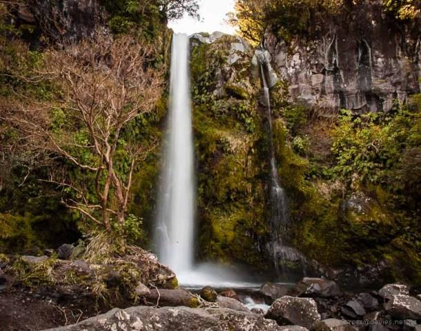 Dawson Falls on Mt Taranaki