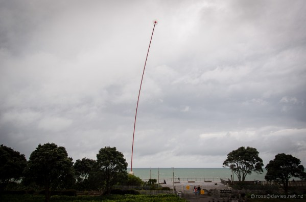 New Plymouth Wind Wand by Len Lye