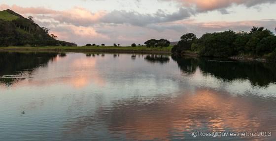 Lagoon at Tawharanui Regional Park