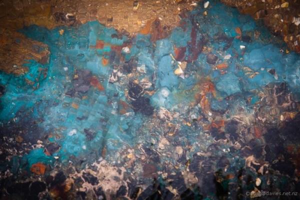 Abstract photo Whananaki Estuary