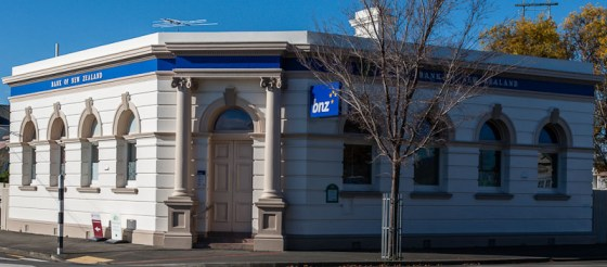 Martinborough bank building