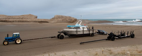 Castlepoint Fishing Boat
