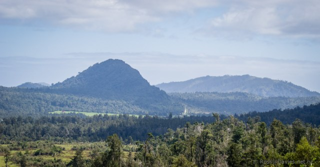 Looking back down the Arahura Valley