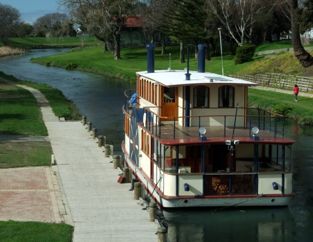 River Queen on the Taylor River Blenheim