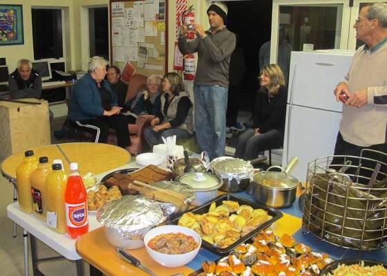 Farewell feast
