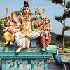 Temple detail Penang Hill
